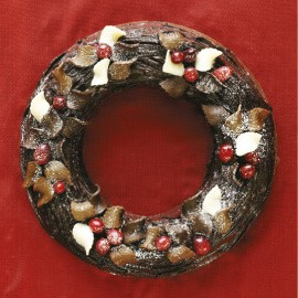 Easy Chocolate Wreath Cake Woman And Home