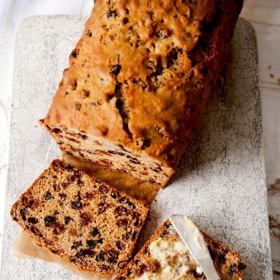 Light Fruit Cake Loaf Recipe