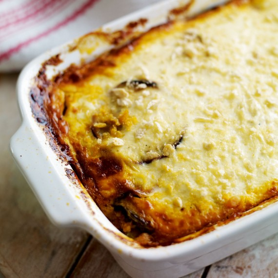 Moussaka Authentic And Traditional Greek Recipe: Spiced Beef Moussaka
