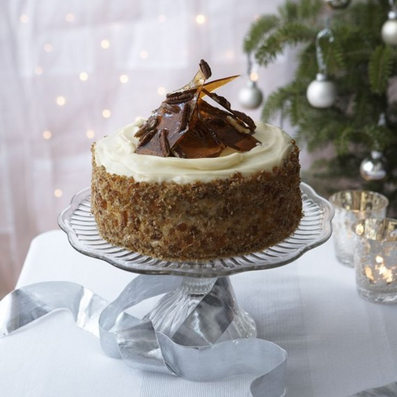 Christmas Cake Recipes Sticky Ginger And Treacle Cake