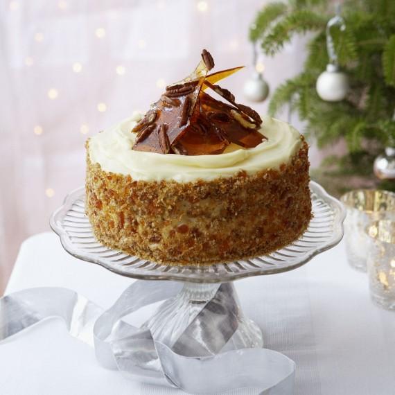 Celebration Cake Recipes: Sticky Ginger And Treacle Cake