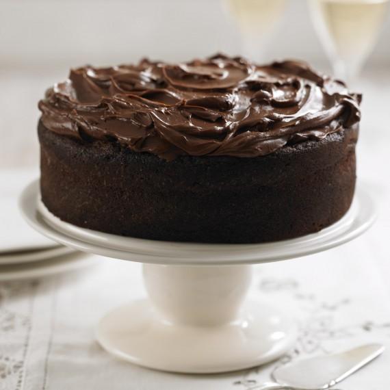 Celebration Cake Recipes: Dark Chocolate Fudge Cake