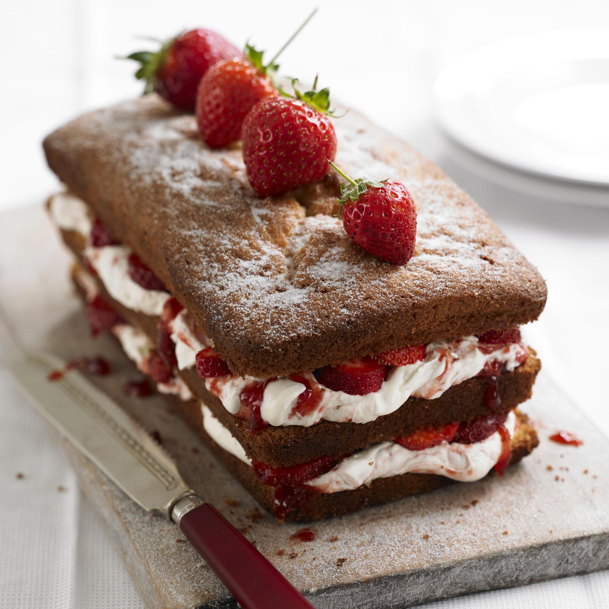 Sponge Loaf Cake