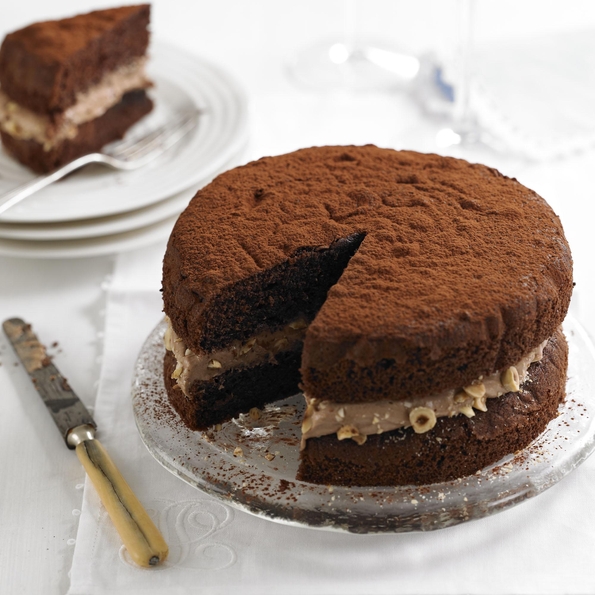 Chocolate Victoria Sandwich Cake Recipe
