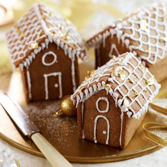 Mini Gingerbread Houses Woman And Home