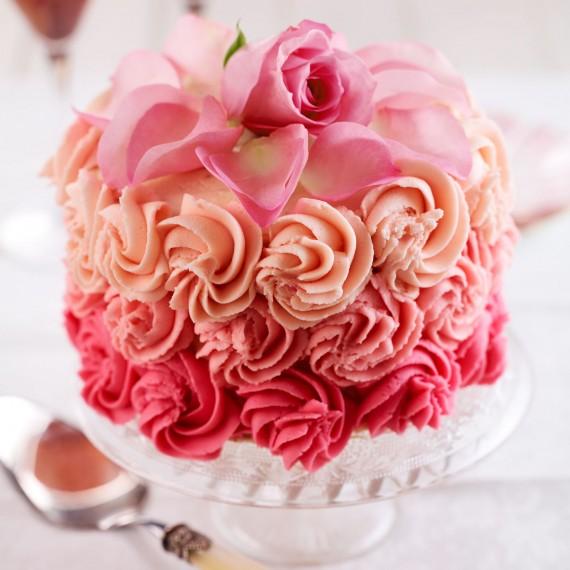 Rose Petal Cake Woman And Home