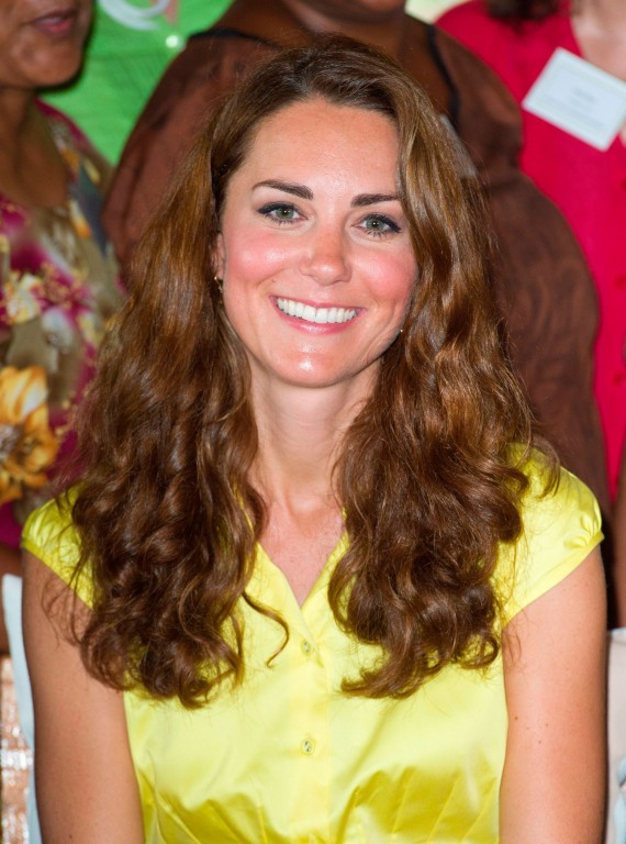 Kate Middleton With Curly Hair Curltalk
