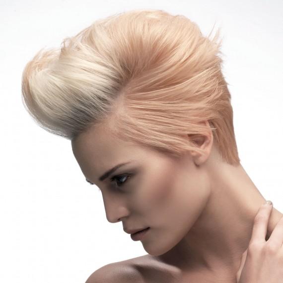 Blonde Quiff Hairstyle