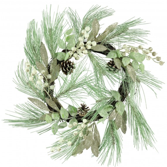 Sandedge Starry Red And White Wreath, £17.99