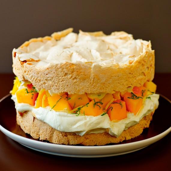 Square Victoria Sponge Cake Recipe