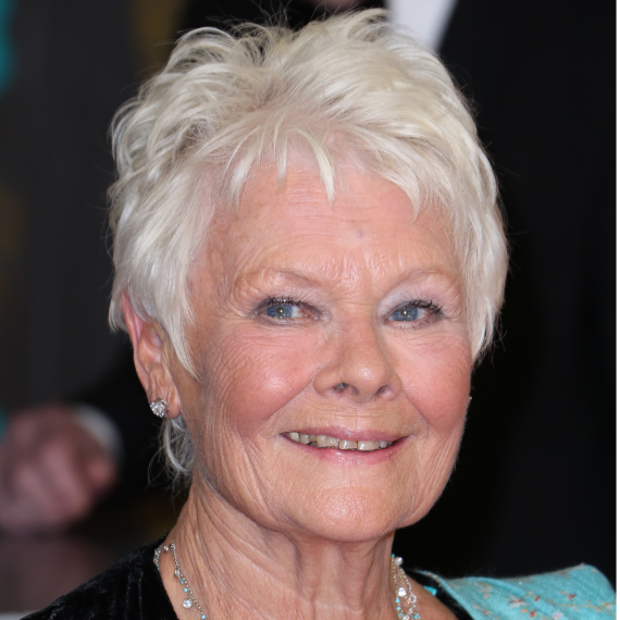 The Best Hairstyles For Older Women Dame Judi Dench Woman And Home