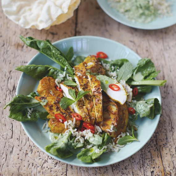 Jamie Oliver S Bombay Chicken And Cauliflower Woman And Home
