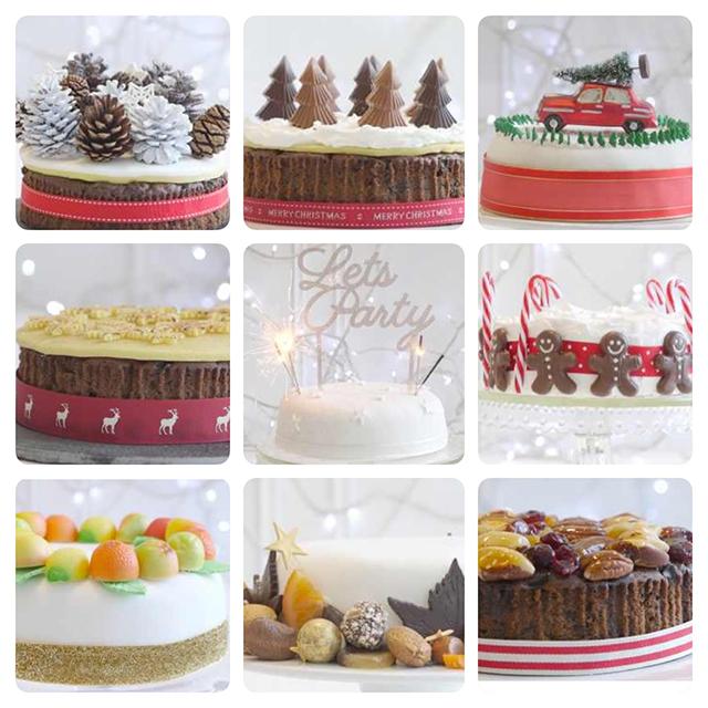 Ideas For Cake Decorating: Christmas Cake Decorating Ideas