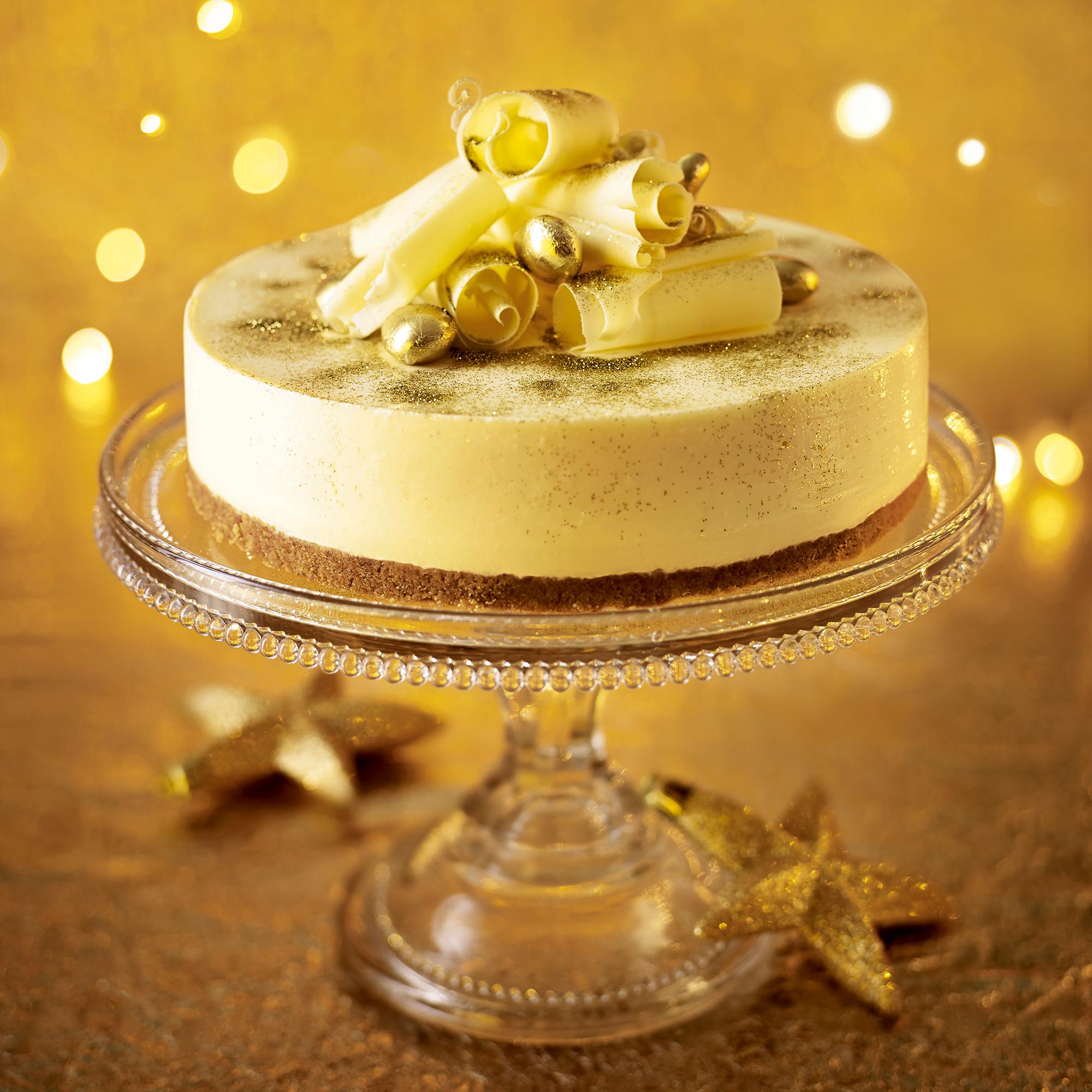 Under Baked Christmas Cake