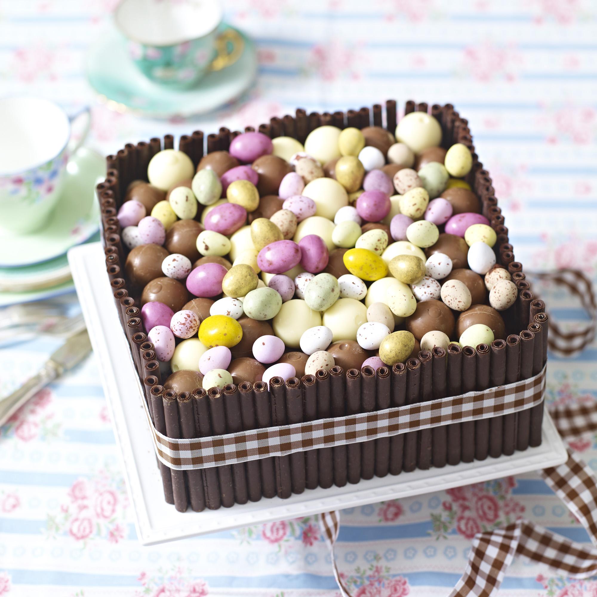Celebration Cake Recipes: Chocolate Box Celebration Cake