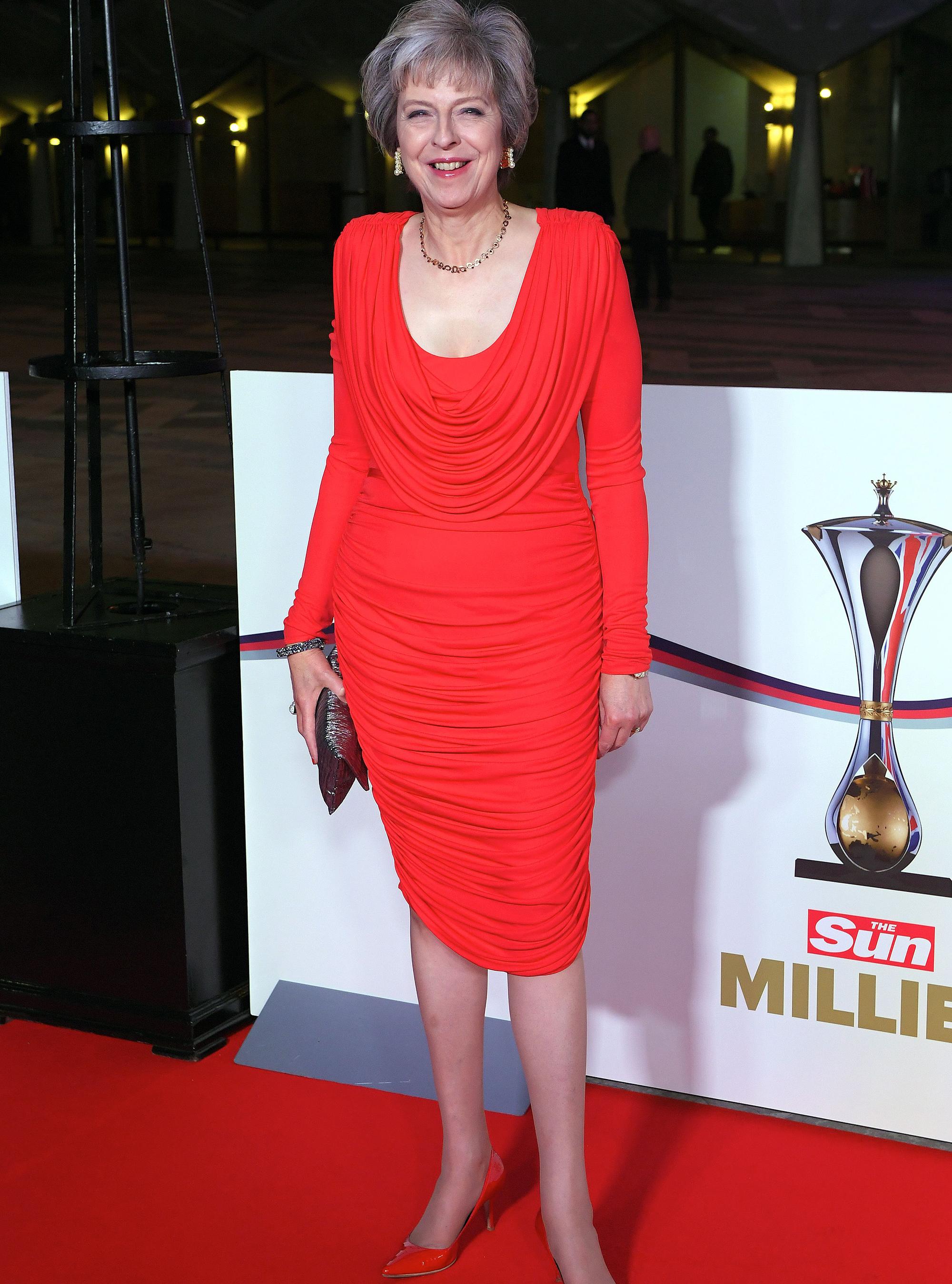 Theresa May's Fashion Moments