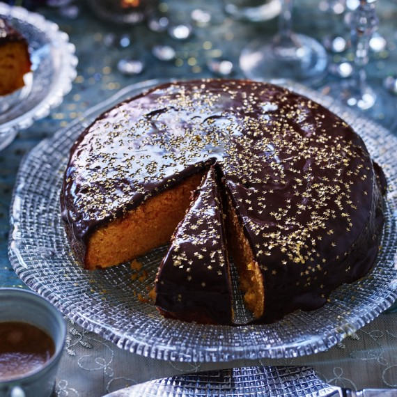 Clementine Cake With Chocolate Glaze Woman And Home
